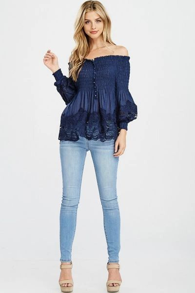 """UNFORGETTABLE"" OFF THE SHOULDER TOP"