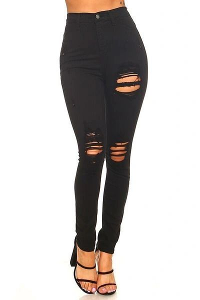 """WILDEST DREAMS"" HIGH WAIST SKINNY JEANS"