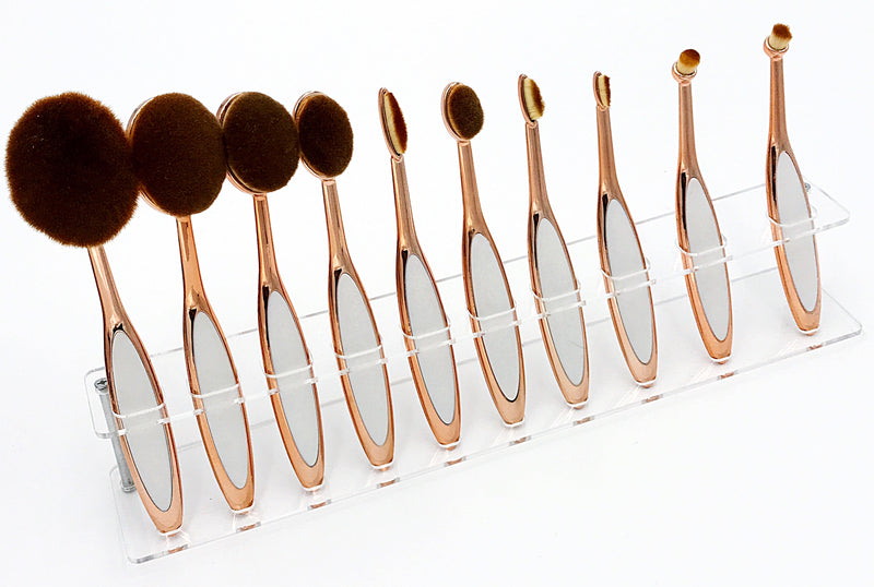 HAI SOCIETY 24K MAKE UP BRUSH SET
