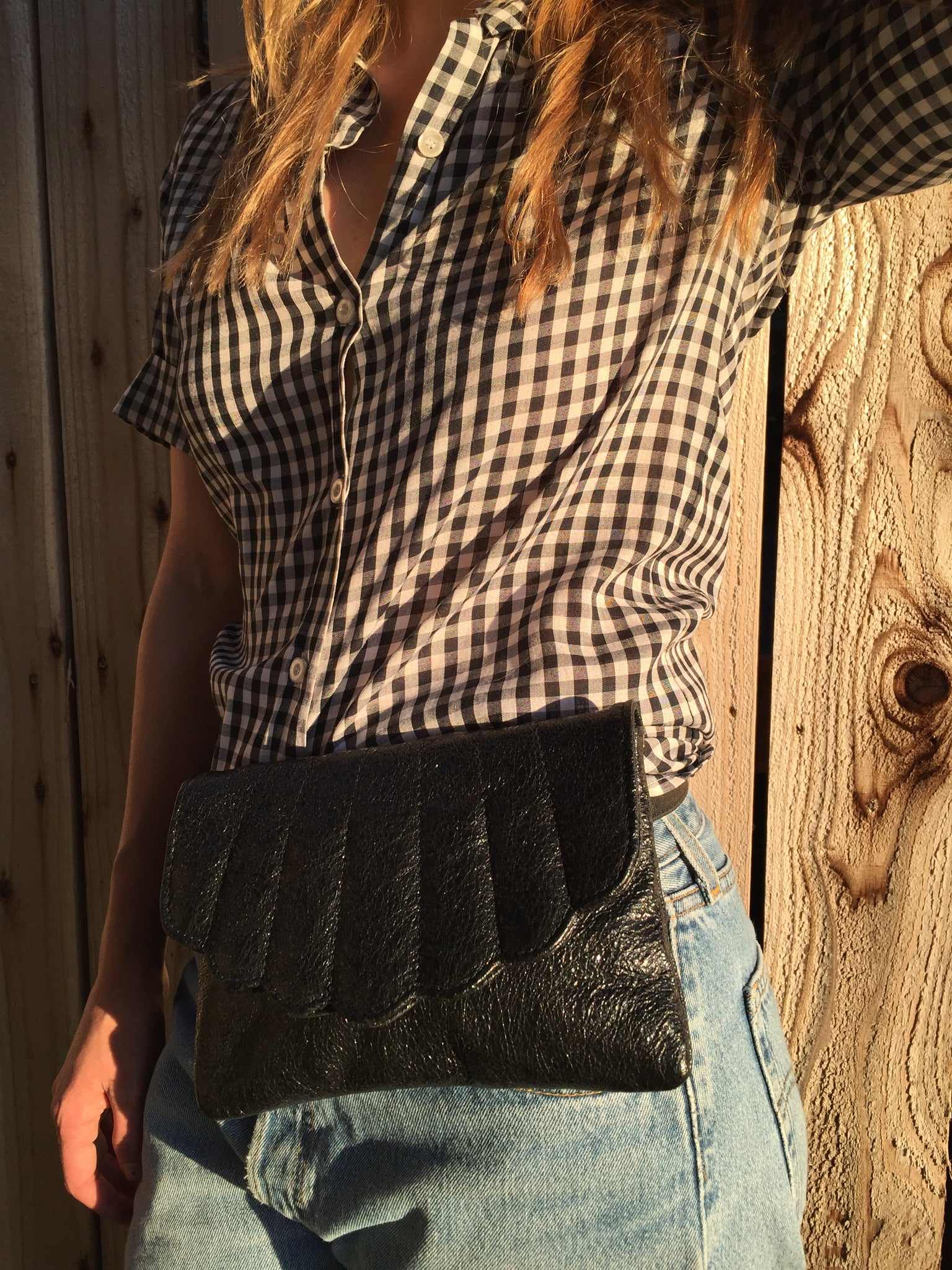 Shell Fanny Pack | BLACK METAL
