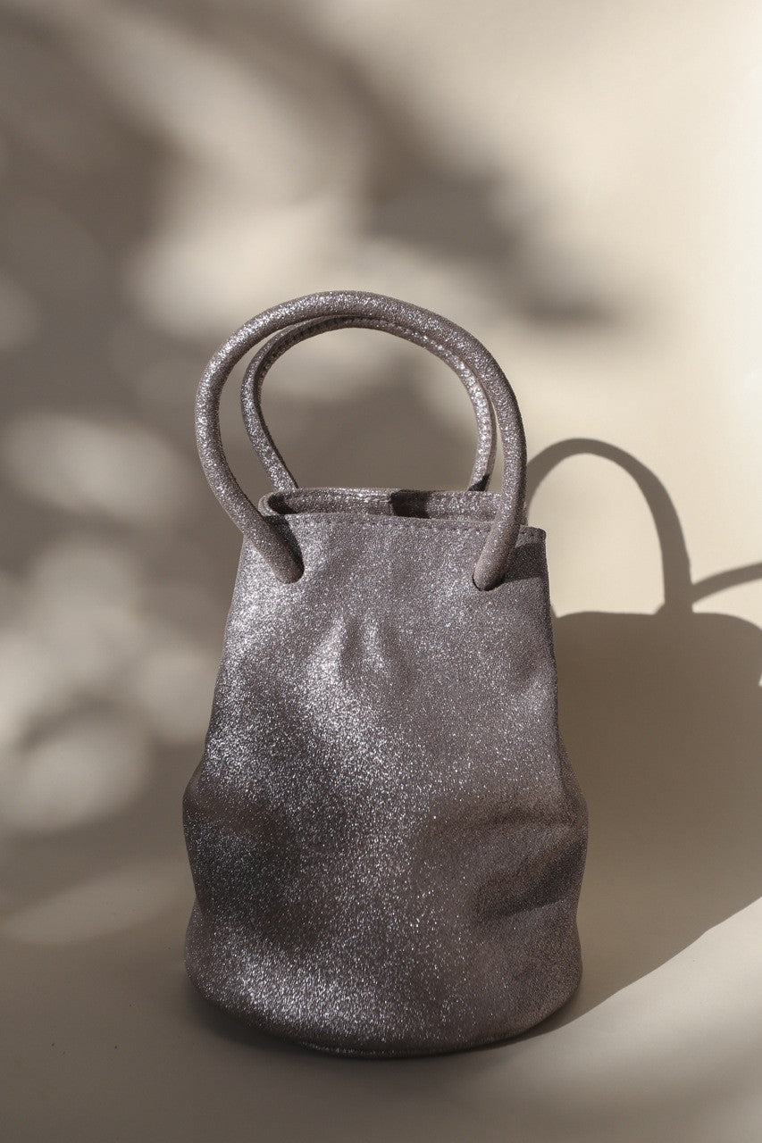 Jane Bracelet Bag || Mauve Metallic
