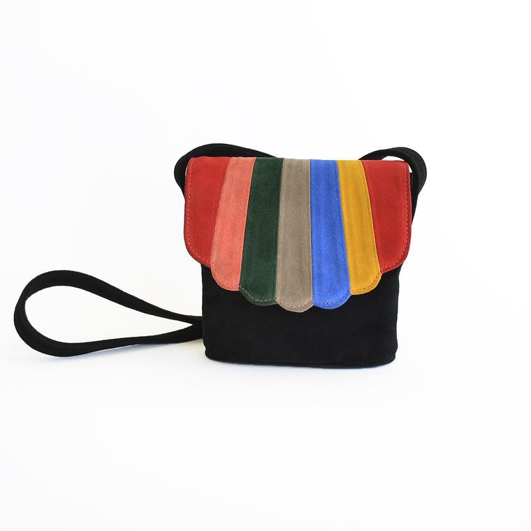 Blanche Shell Canteen | RAINBOW SUEDE