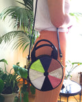 Mini Lisa Circle Bag ~ Color Wheel