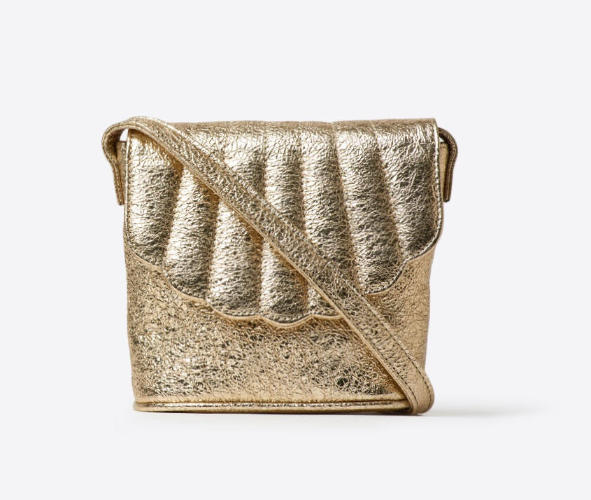 Blanche Shell Canteen || GOLD