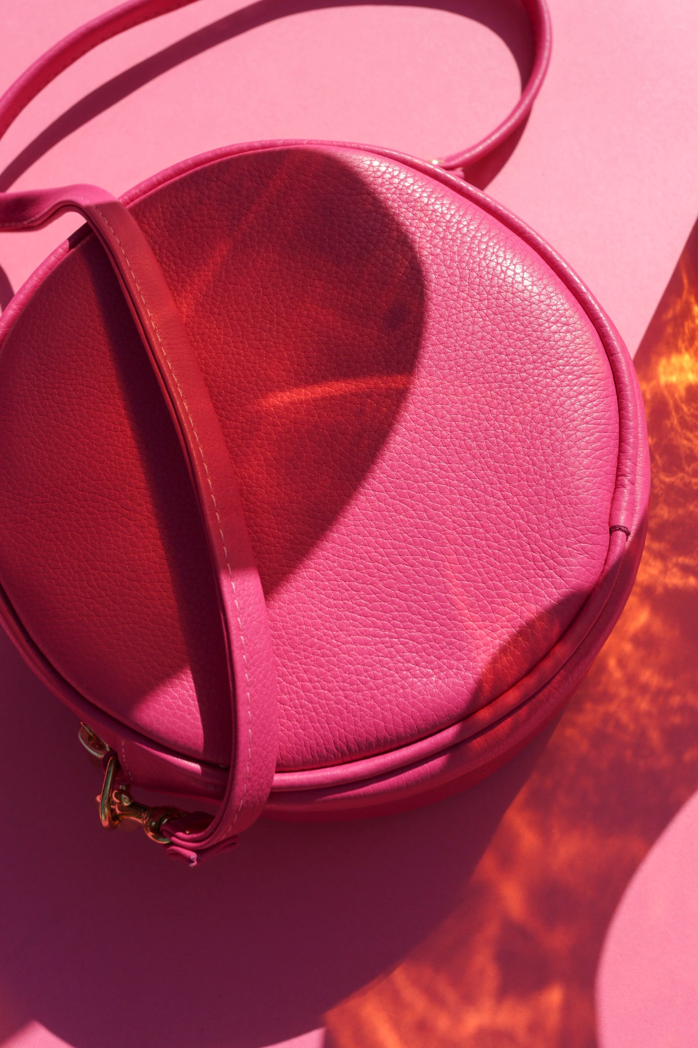 Mini Circle Bag | Orchid