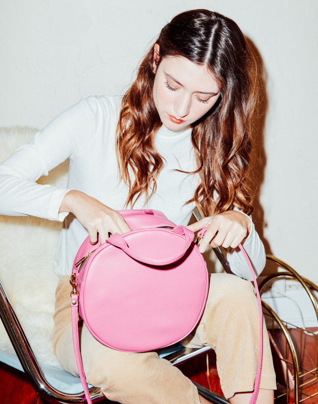 Lisa Circle Bag | Orchid