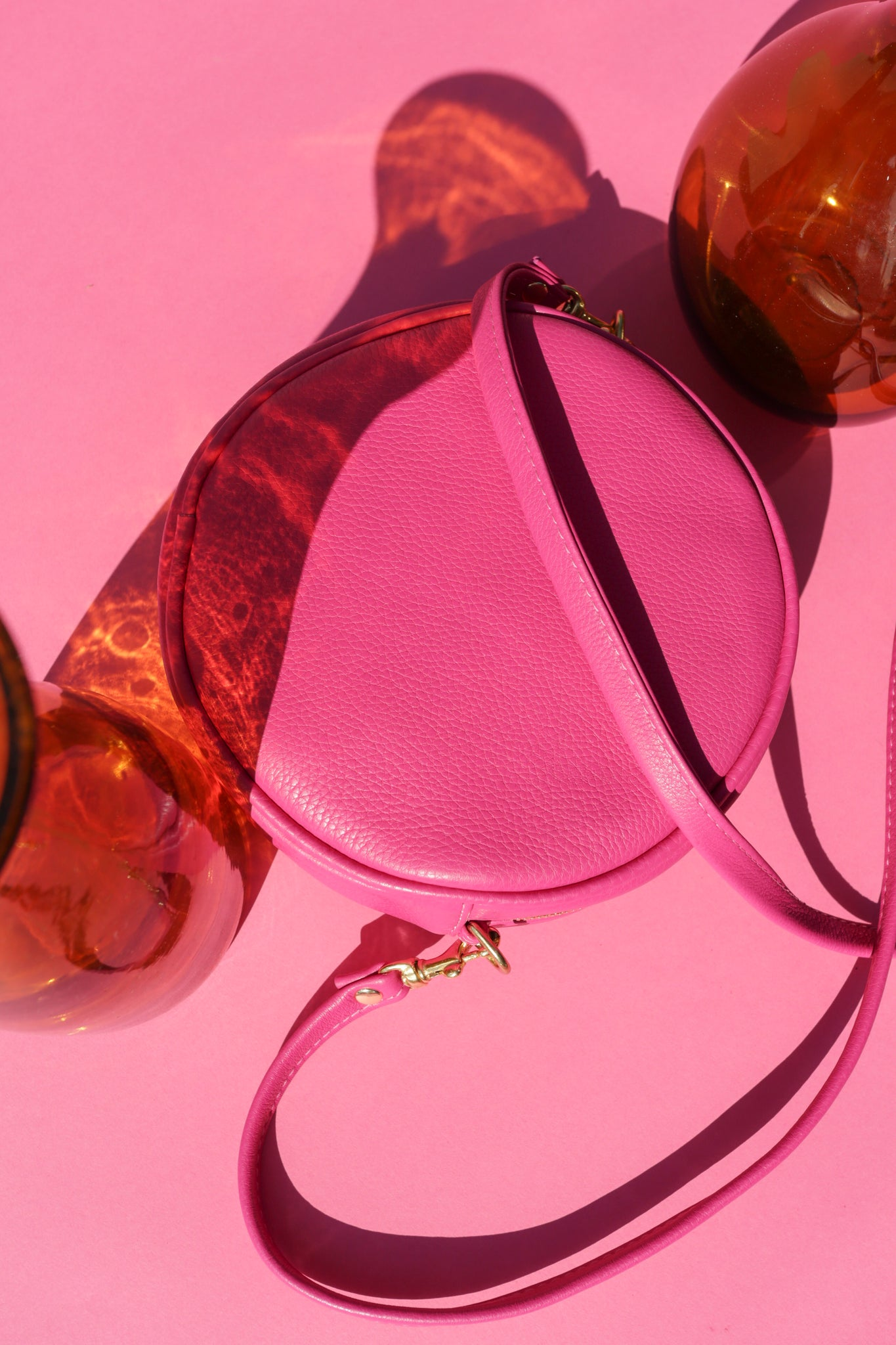 Mini Lisa Circle Bag ~ Orchid