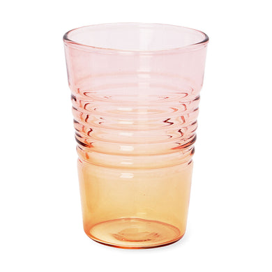 Ombré Juice Glass - Orange / Pink