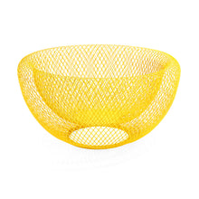 Load image into Gallery viewer, Mesh Wire Bowl - Yellow