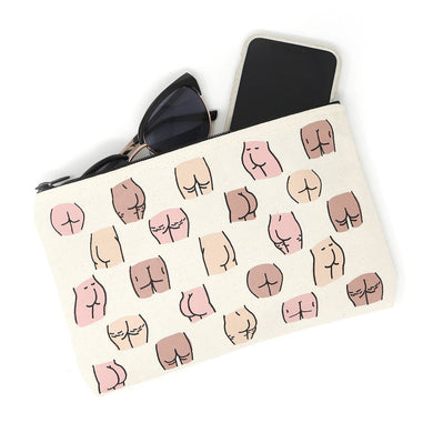 Butts Makeup Bag Pouch