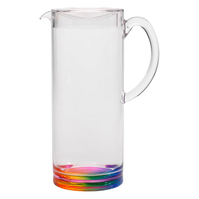 Rainbow Teardrop Pitcher