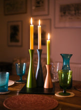 Load image into Gallery viewer, Wooden Candle Holder - Medium