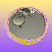 Load image into Gallery viewer, Round Swirl Mirror