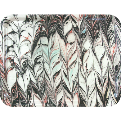 Licorice Leaves Serving Tray