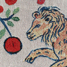 Load image into Gallery viewer, Pomegranate Lions Blanket