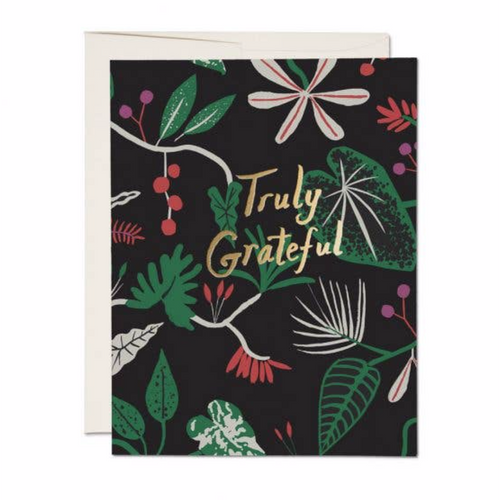 Greatful Foliage Card