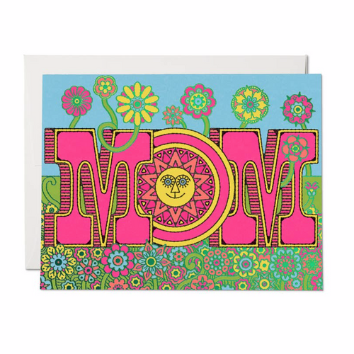 Mom Blooms Card