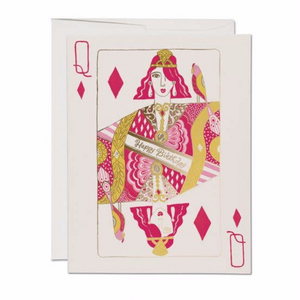 Queen of Diamonds Card