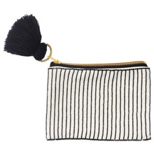 Load image into Gallery viewer, Stripes Beaded Pouch