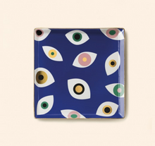 Load image into Gallery viewer, Nazar Blue Ceramic Tray