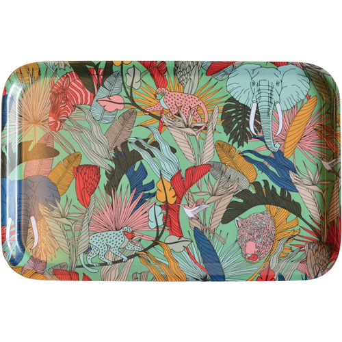 Safari Dinner Tray - Turquoise