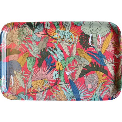 Safari Dinner Tray - Pink