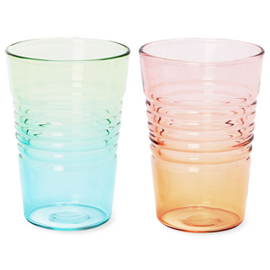 Ombré Juice Glass - Blue / Green