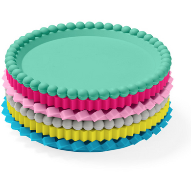 Geo Stacking Coasters - Pastels