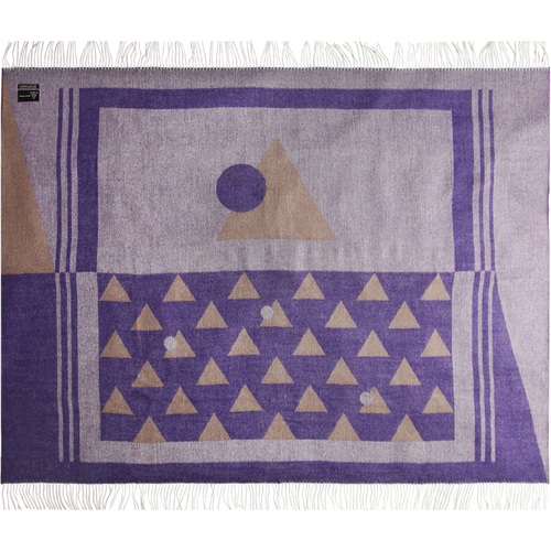 Purple Andes Throw