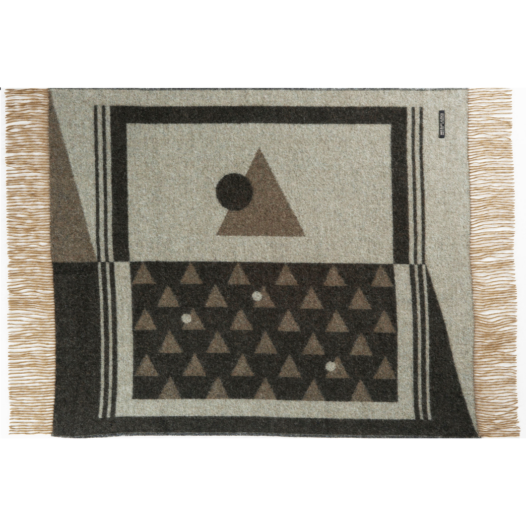 Green Andes Throw