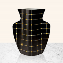 Load image into Gallery viewer, Paper Vase - Black Lido