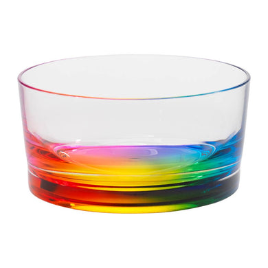 Rainbow Teardrop Salad Bowl