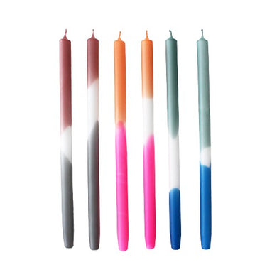 Dip Mix Gradient Taper Candle