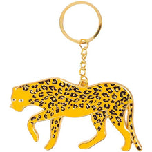 Load image into Gallery viewer, Leopard Oversized Keychain