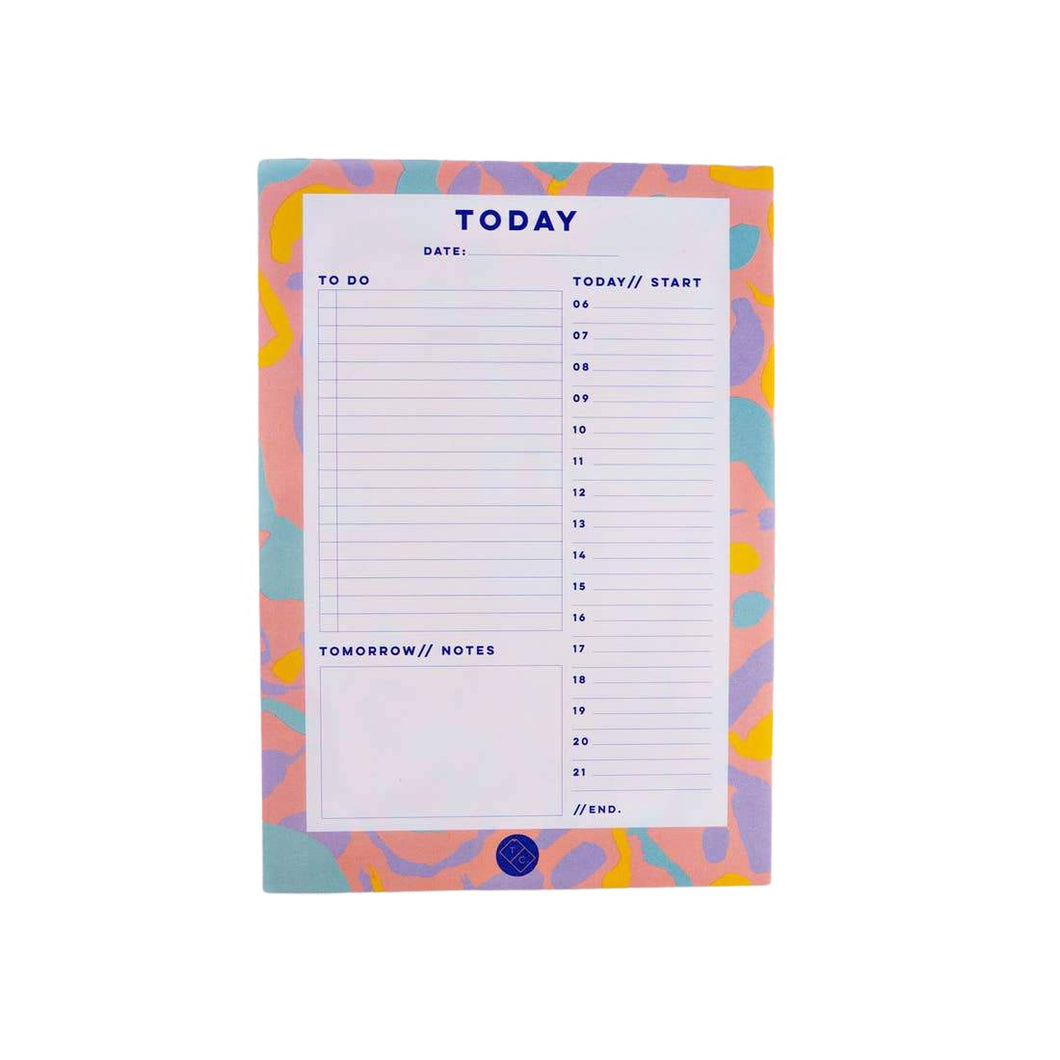 Inky Daily Planner Pad