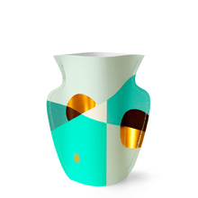 Load image into Gallery viewer, Siena Mint Mini Paper Vase