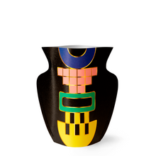Load image into Gallery viewer, Mini Paper Vase - Black Templo