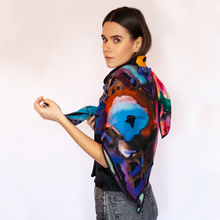 Load image into Gallery viewer, Night Fall Wool Scarf