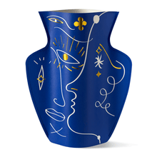 Load image into Gallery viewer, Jaime Hayon Paper Vase - Blue