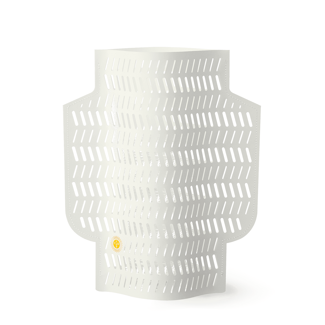 Coral Perforated Paper Vase