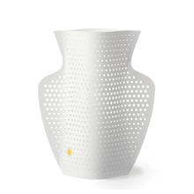 Load image into Gallery viewer, Cyano Perforated Paper Vase