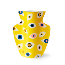 Load image into Gallery viewer, Nazar Yellow Paper Vase