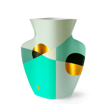 Load image into Gallery viewer, Siena Mint Paper Vase
