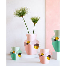 Load image into Gallery viewer, Paper Vase - Pink Siena