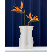 Load image into Gallery viewer, Venus White Paper Vase