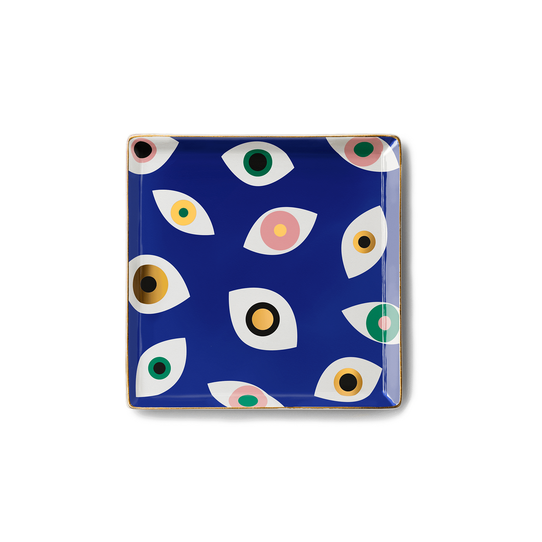 Nazar Blue Ceramic Tray