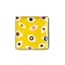 Load image into Gallery viewer, Nazar Yellow Ceramic Tray