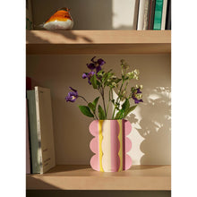 Load image into Gallery viewer, Riviera Wave Mini Paper Vase