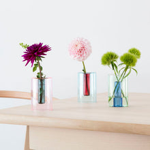 Load image into Gallery viewer, Small Reversible Glass Vase