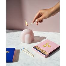 Load image into Gallery viewer, Pink Templo Sculptural Candle